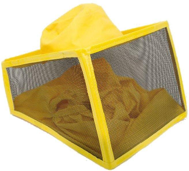 Lega square yellow mask