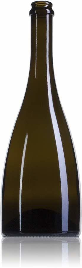 Champagne Alienor 75 CA 750ml Corona CAVA 175 MetaIMGIn Botellas de cristal para cavas