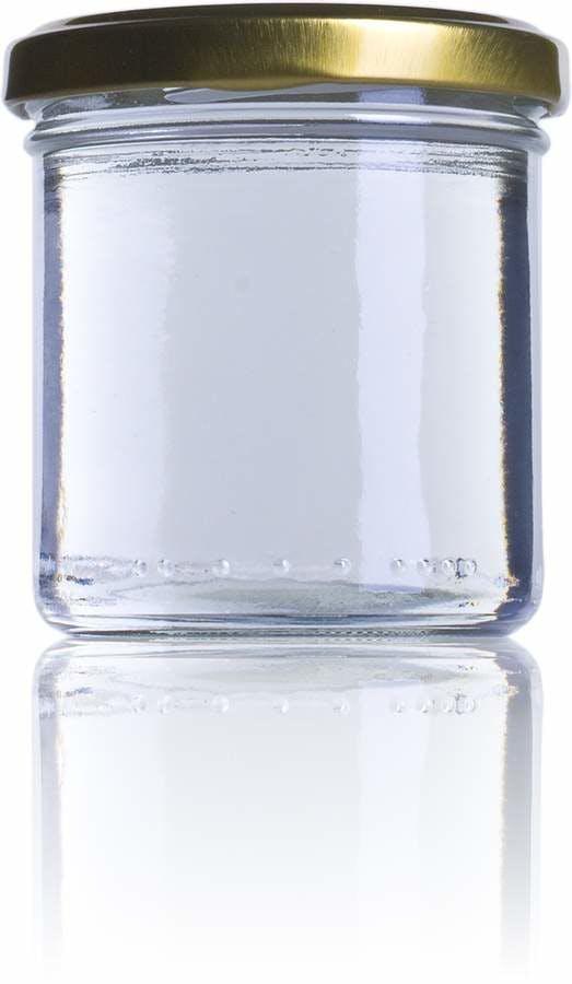 CP 167 ml TO 066 Embalagens de vidro Boioes frascos e potes de vidro para alimentaçao