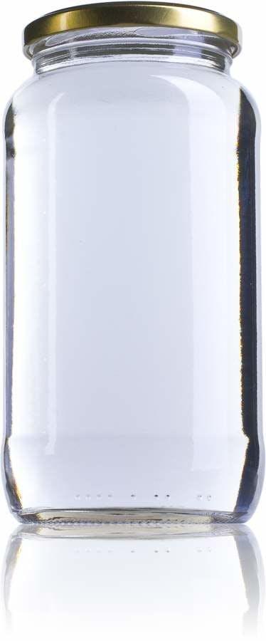 Cuarto Galón-935ml-TO-077-envases-de-vidrio-tarros-frascos-de-vidrio-y-botes-de-cristal-para-alimentación