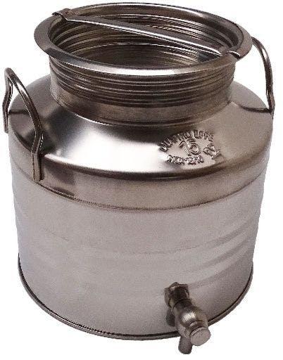 Depósito de acero inoxidável 15 litros