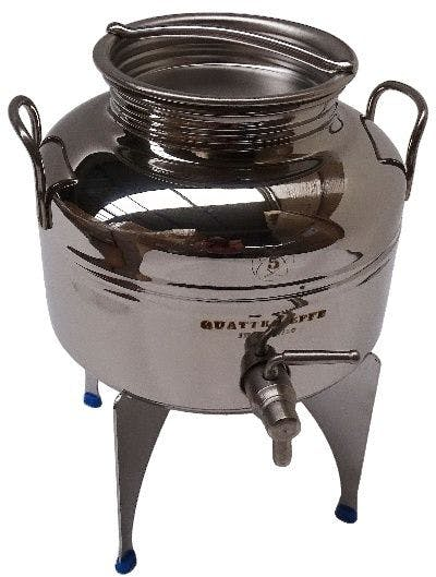 Bidon inox de 5 litres avec roubinet