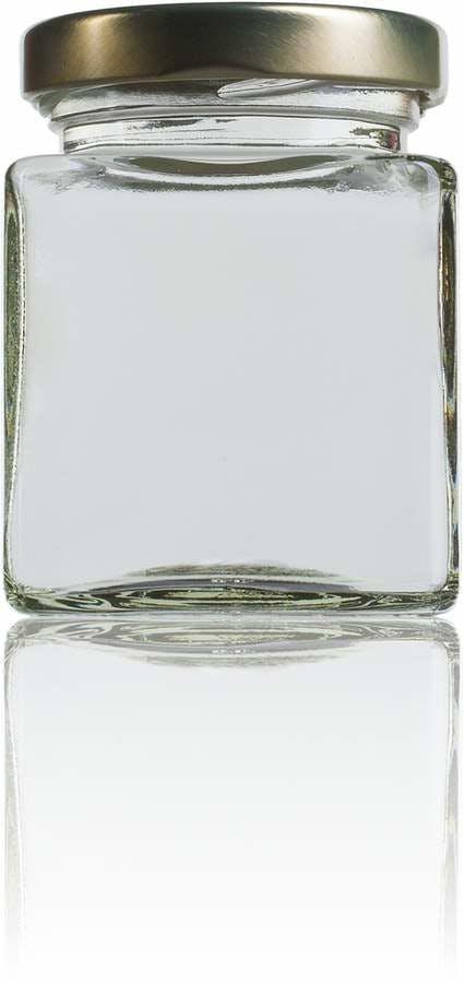 Cubic 106ml -TO-48-envases-de-vidrio-tarros-frascos-de-vidrio-y-botes-de-cristal-para-alimentación