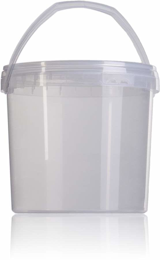 Balde 3,7 Bajo litros Embalagens de plastico Baldes de plastico