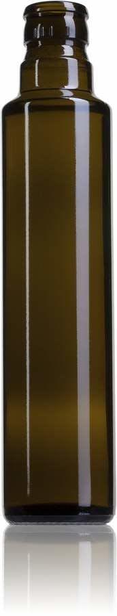 Dorica 250 VE Marisa GUALA DOP irrellenable Embalagens de vidrio Botellas de cristal   aceites y vinagres