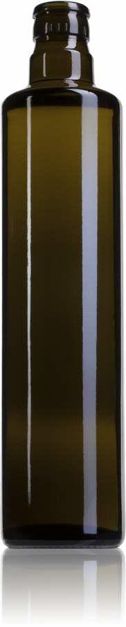 Dórica 500 VE Boca GUALA DOP irrellenable-envases-de-vidrio-botellas-de-cristal-aceites-y-vinagres