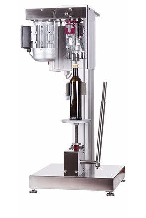 Semiautomatic Pilfer Proof capping machine