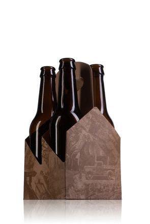 Boîte en carton idéal pour 4 bouteilles