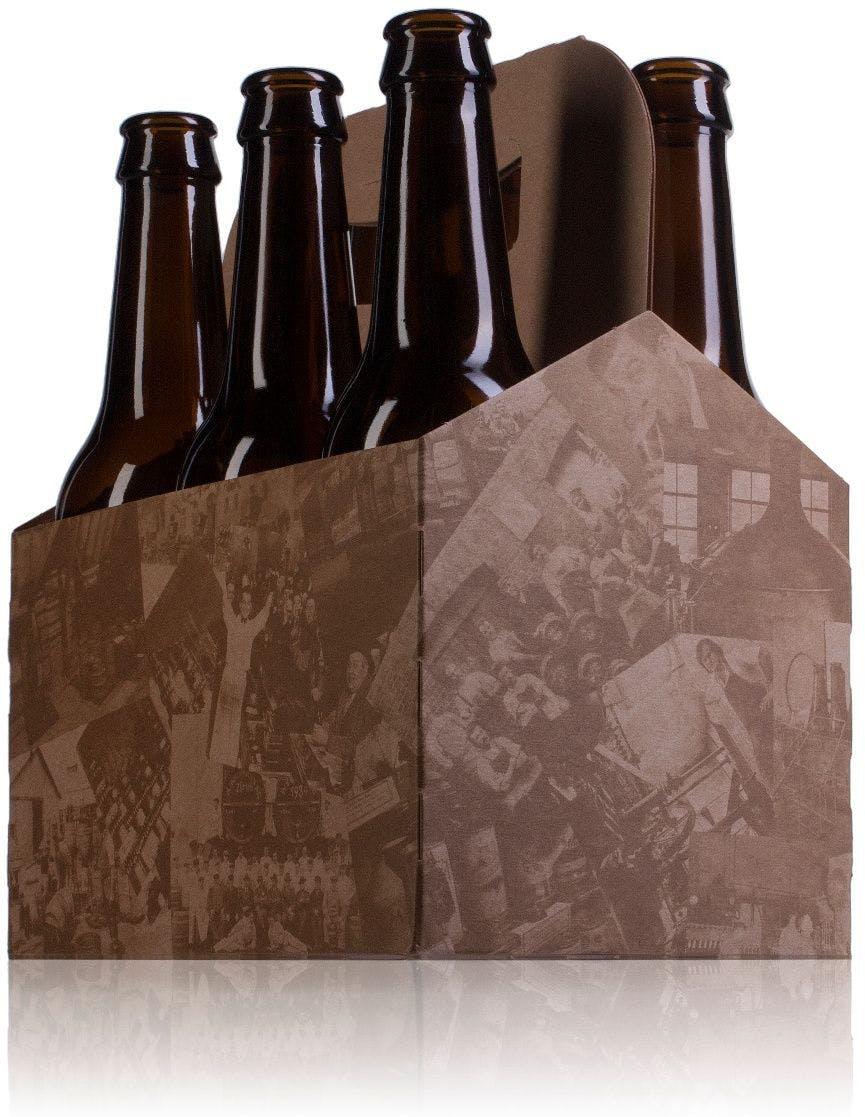 Estuche de cartón para 6 botellas