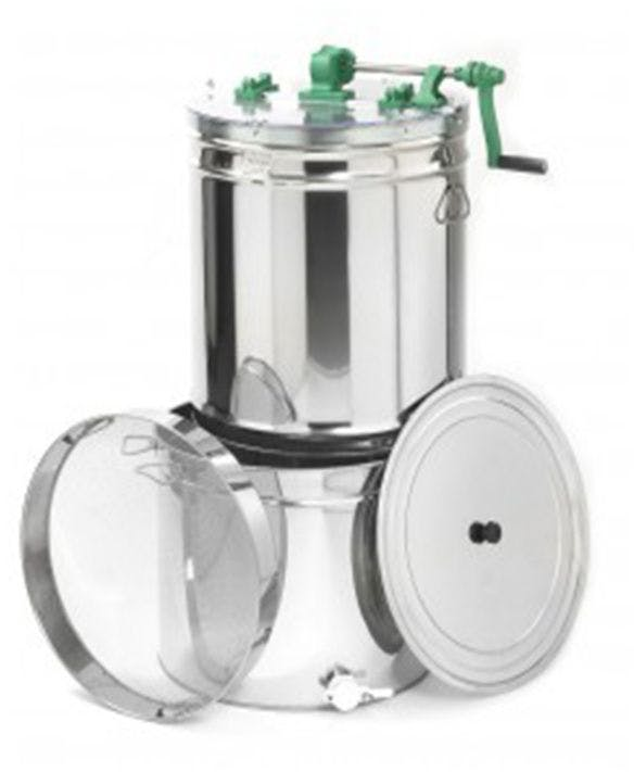 Espace / Racing honey extractor with 100 kg ripener and filter