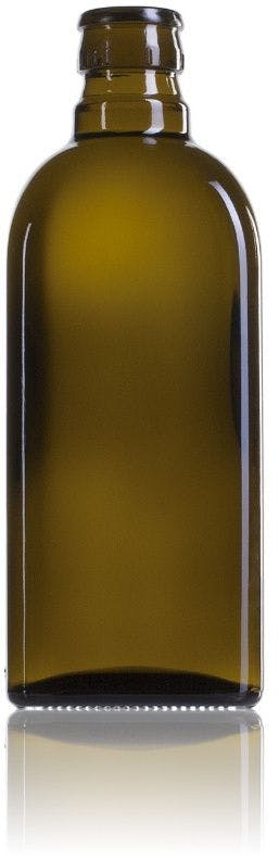 Frasca 500 CA boca GUALA DOP irrellenable-envases-de-vidrio-botellas-de-cristal-aceites-y-vinagres