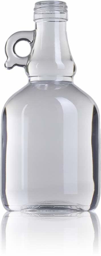 Galoncino 500 BL marisa Rosca SPP (A315) Embalagens de vidrio Botellas de cristal   aceites y vinagres