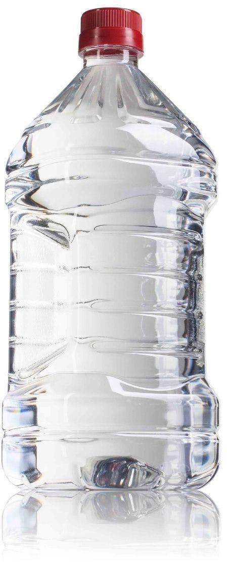 Cuadrada PET 2000 ml boca 36/29 Embalagem de plástico Garrafas de plástico PET