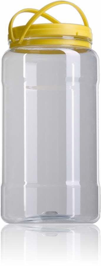 Garrafa PET 3,100 litros Embalagens de plastico Garrafão e bidão de plastico