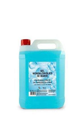 Gel hydroalcoolique désinfectant pour les mains 5 litres
