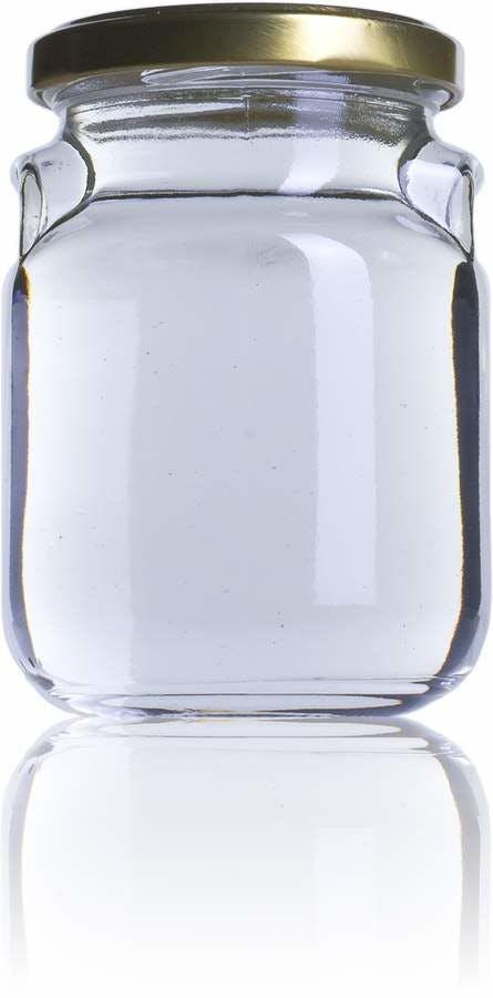 Jarra Lusa 275 ml TO 063 Embalagens de vidro Boioes frascos e potes de vidro para alimentaçao