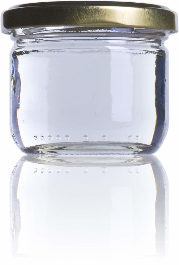 Juvasa 120-120ml-TO-066-envases-de-vidrio-tarros-frascos-de-vidrio-y-botes-de-cristal-para-alimentación