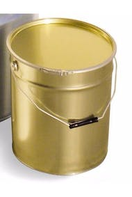 15 liter gray paint can for hives