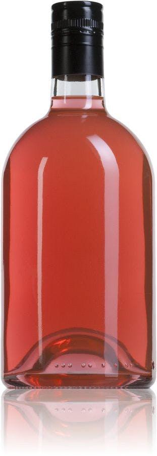 Licor London 70 cl Roscada SPP31.5x44 700ml Rosca SPP31.5x44 Embalagens de vidro Garrafas de cristal para licores