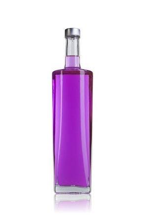 Licor Miami 70 cl Roscada GPI400 28 700ml Rosca GPI400 28 Embalagens de vidro Garrafas de cristal para licores