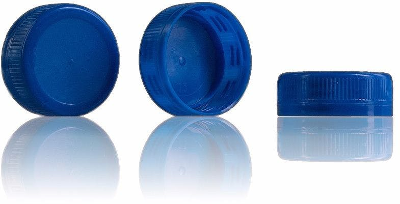 Stopper Blue 38 mm 38 33 3 threads MetaIMGIn Tapones
