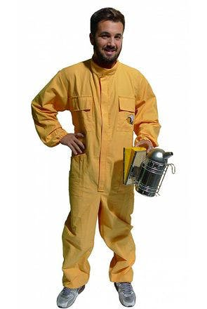 Yellow beekeeper's jumpsuit size S Lega