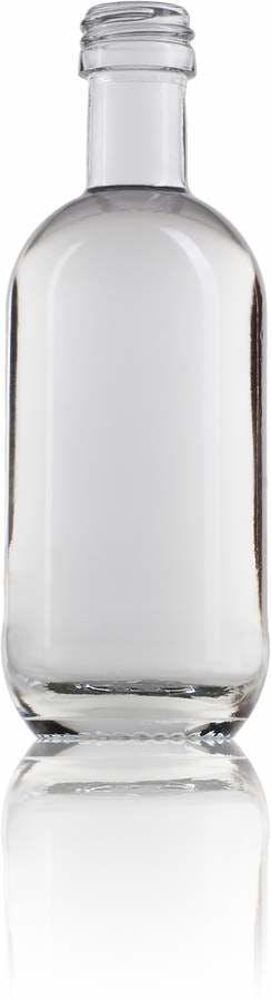 Moonea 50 cl 50ml emballage de verre bouteille de verre et bouteille de verre miniature