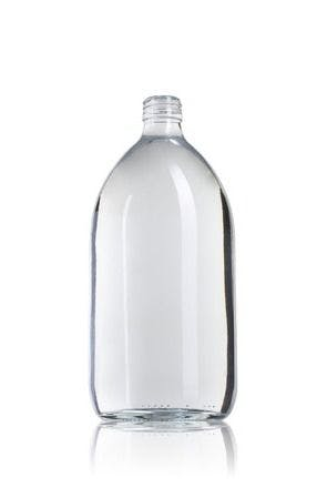 Ocean 1000 ML PP28 MetaIMGFr Botellas, frascos de vidrio