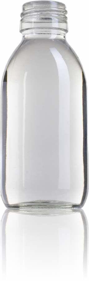 Ocean 125 ML PP28 Embalagens para laboratório e farmácia Garrafas frascos de vidro cristal para laboratório
