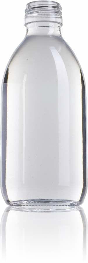 Ocean 250 ML PP28-envases-para-laboratorio-y-farmacia-botellas-frascos-de-vidrio-cristal-para-laboratorio