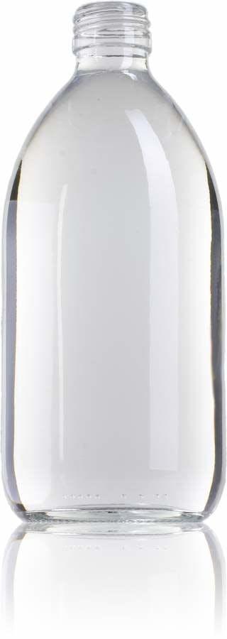 Ocean 500 ML PP28 Embalagens para laboratório e farmácia Garrafas frascos de vidro cristal para laboratório