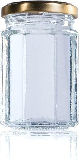 Octogonal 212 ml TO 058 MetaIMGIn Tarros, frascos y botes de vidrio