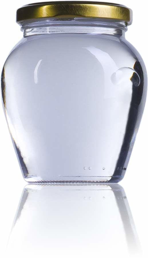 Vaso Orcio 314  314ml TO 063 MetaIMGFr Tarros, frascos y botes de vidrio