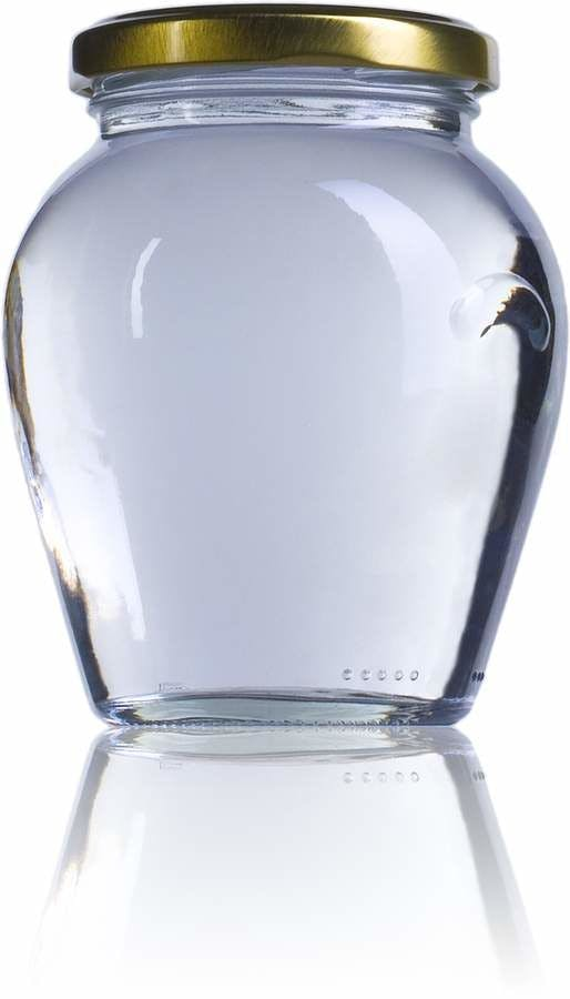 Vaso Orcio 370  370ml TO 063 MetaIMGFr Tarros, frascos y botes de vidrio