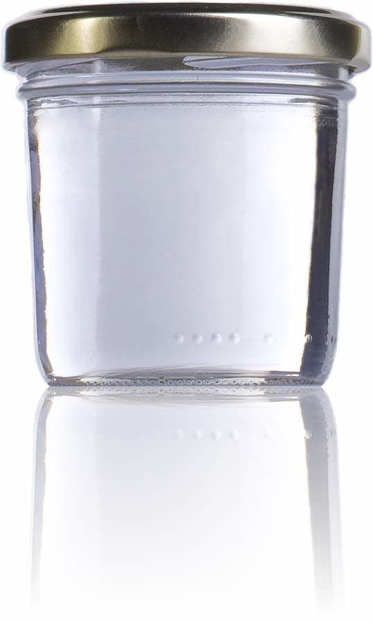 Pate 120 (Valvy 125)-128ml-TO-063-envases-de-vidrio-tarros-frascos-de-vidrio-y-botes-de-cristal-para-alimentación