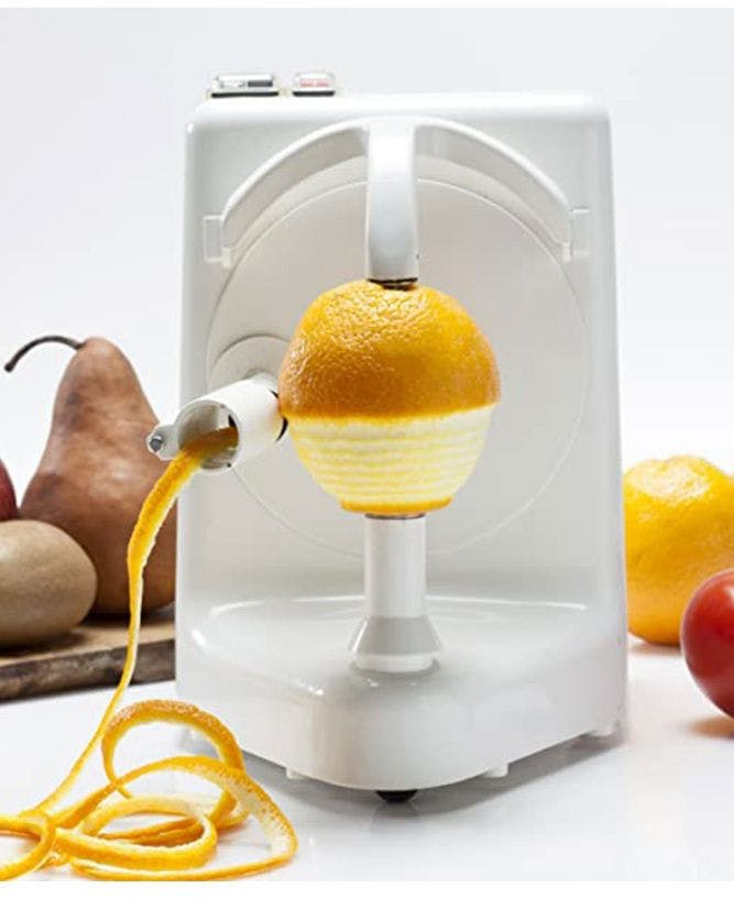 Pelador de frutas y hortalizas eléctrico