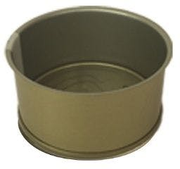 Cylindrical metal tin RO 85 ml Gold / Porcelain easy opening