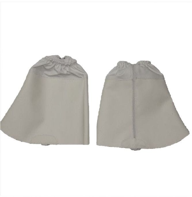 Nitrile acryl gaiter with zip and elastic