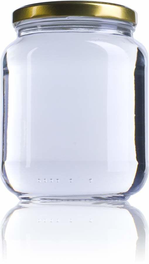 Pot 720-720ml-TO-082-envases-de-vidrio-tarros-frascos-de-vidrio-y-botes-de-cristal-para-alimentación
