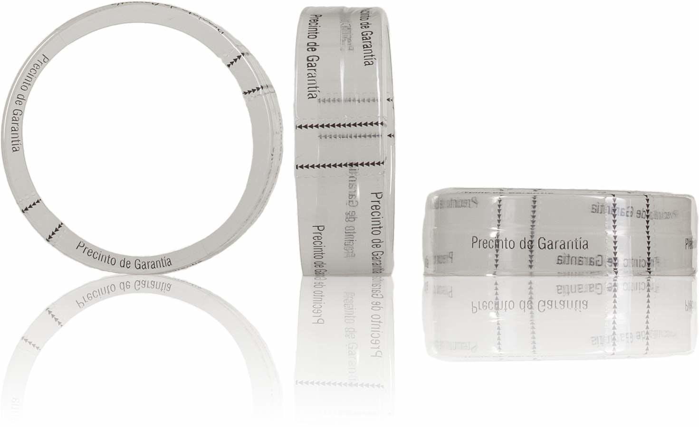 Precinto de garantia para Lid Twist Off 066 MetaIMGIn Tapas de cierre