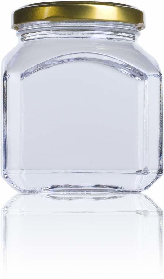 Quadro Firenze 314-314ml-TO-063-envases-de-vidrio-tarros-frascos-de-vidrio-y-botes-de-cristal-para-alimentación