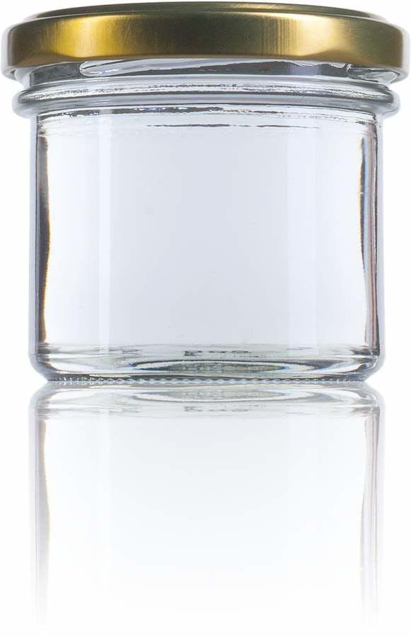 Recto 125 125ml TO 066 MetaIMGFr Tarros, frascos y botes de vidrio