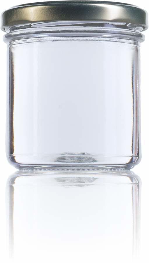 Recto 167 ml TO 066 MetaIMGFr Tarros, frascos y botes de vidrio