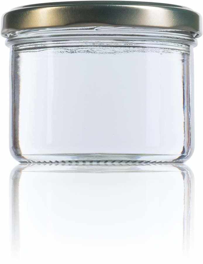 Recto 235 ml TO 082-envases-de-vidrio-tarros-frascos-de-vidrio-y-botes-de-cristal-para-alimentación