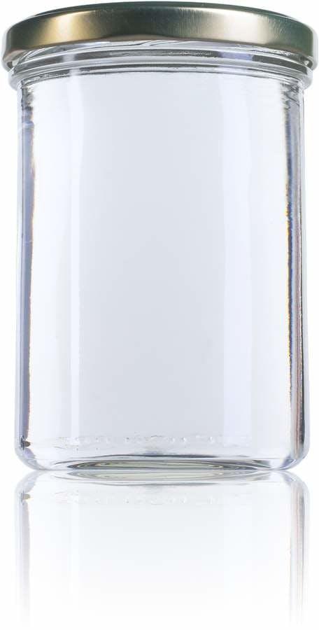 Recto 440 ml TO 082 MetaIMGFr Tarros, frascos y botes de vidrio
