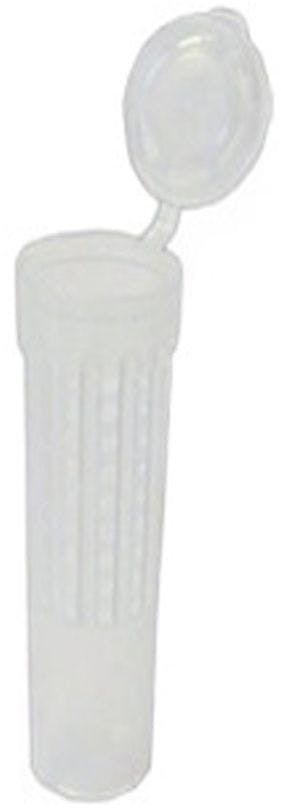 100 Cage ronde plastique avec bouchon pour reine