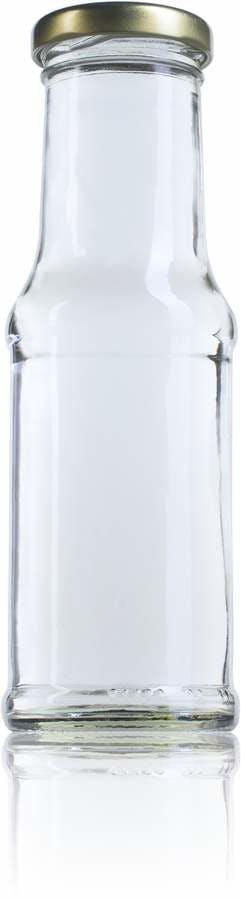Salsa 200 ml TO 043-envases-de-vidrio-tarros-frascos-de-vidrio-y-botes-de-cristal-para-alimentación