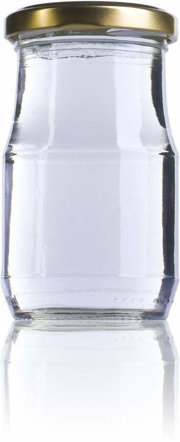 Siroco 210 212 ml TO 058 Embalagens de vidro Boioes frascos e potes de vidro para alimentaçao