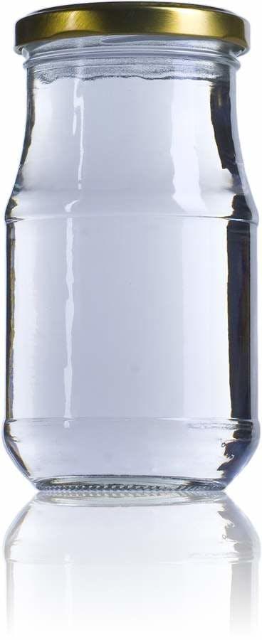 Siroco 370 -370ml-TO-063-envases-de-vidrio-tarros-frascos-de-vidrio-y-botes-de-cristal-para-alimentación