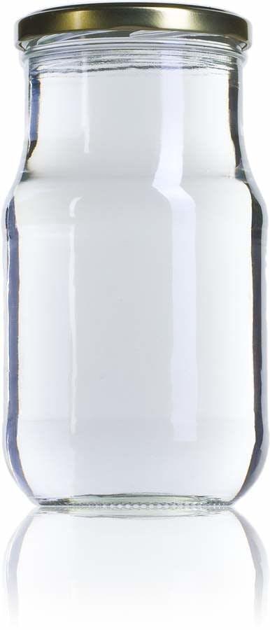Siroco 720 720ml TO 077 Embalagens de vidro Boioes frascos e potes de vidro para alimentaçao